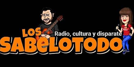 Grabación de Los Sabelotodo con  Alberto López  y Alfonso Sánchez tickets