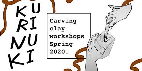 Kurinuki clay workshops tickets