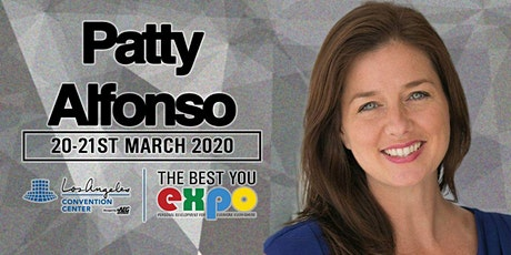 Patty Alfonso at The Best You EXPO 2020, Los Angeles tickets