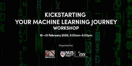 Kickstarting Your Machine Learning Workshop 10 - 13 February 2020 tickets