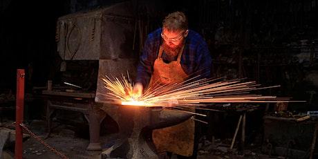 Cyflwyniad i Grefft y Gof - Introduction to Blacksmithing tickets