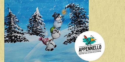 Cesenatico (FC): Più  pazzi di neve:, un aperitivo Appennello