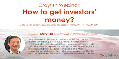 Crayfish Webinar: How to Get Investors\