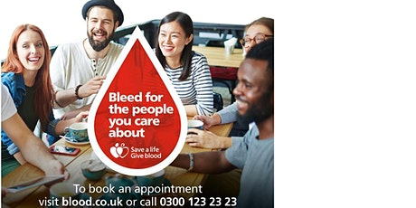 Make giving blood your New Years Resolution  tickets