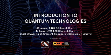 Introduction to Quantum Technologies tickets
