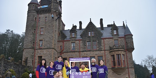 Abseil Belfast Castle for Action Mental Health