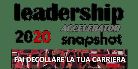 LEADERSHIP ACCELERATOR - FAI DECOLLARE LA TUA CARRIERA biglietti