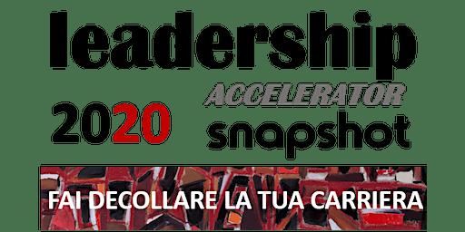 LEADERSHIP ACCELERATOR - FAI DECOLLARE LA TUA CARRIERA
