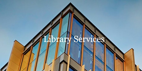 Library Services event for new academic starters - Jan 2020 tickets