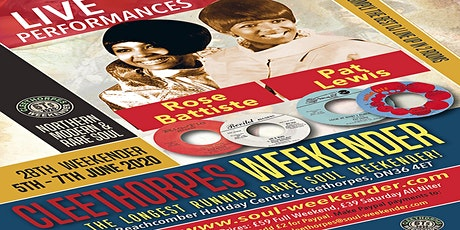 28th 6Ts Cleethorpes Northern & Modern Rare Soul Weekender tickets