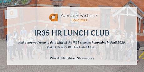 IR35: Shrewsbury HR Lunch Club - February 2020 tickets