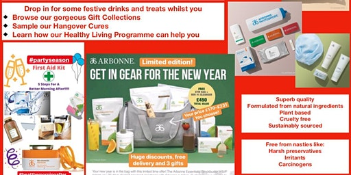 Pop Up Christmas Shop, Hangover Cures and More