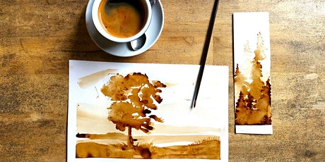 Painting with coffee workshop @theBurrow! tickets