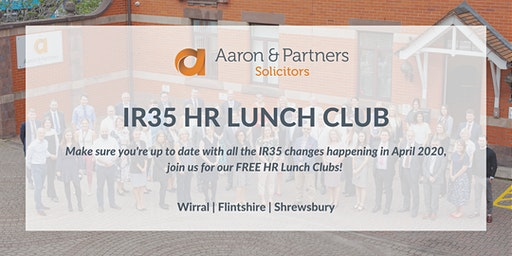 IR35: Flintshire HR Lunch Club - February 2020