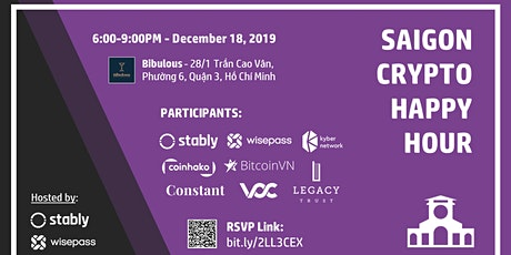 Saigon Crypto Happy Hour (Hosted by Stably & WisePass) tickets