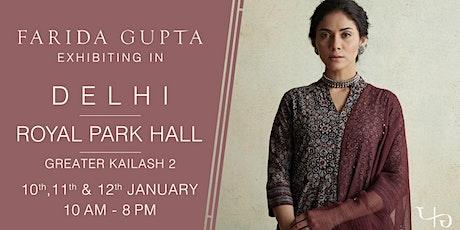 Farida Gupta Delhi Exhibition (GK-II) tickets