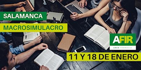 MACROSIMULACRO SALAMANCA 11 Y 18 DE ENERO entradas