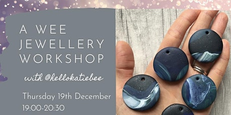 A Wee Festive Jewellery Workshop tickets