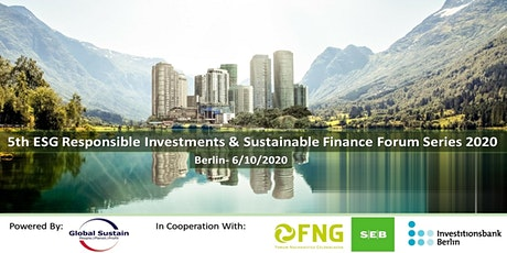 5th ESG Investments & Sustainable Finance Forum Berlin 2020 Tickets