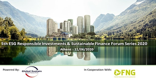 5th ESG Investments & Sustainable Finance Forum Athens 2020