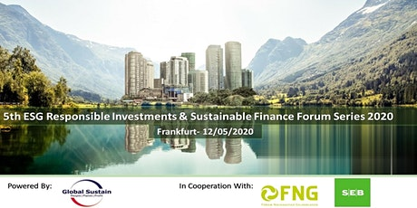 5th ESG Investments & Sustainable Finance Forum Frankfurt 2020 tickets