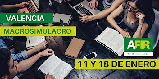 MACROSIMULACRO VALENCIA 11 Y 18 DE ENERO