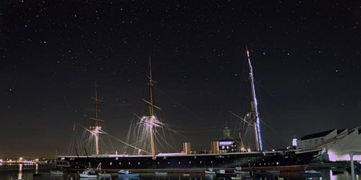 Stargazing at Portsmouth Historic Dockyard 2020