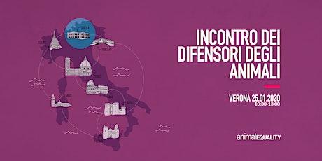 Incontro con Animal Equality a Verona biglietti