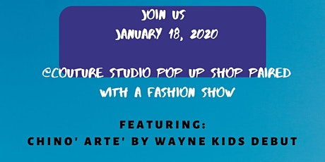 Couture Studio Pop Up Fashion Show  tickets