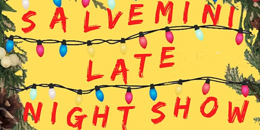 Salvemini late night show - Christmas edition 2019 - 2 EURO