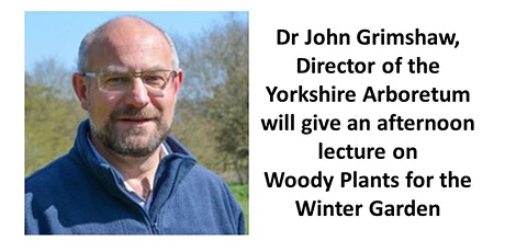 Dr John Grimshaw lecture - Woody Plants for the Winter Garden tickets