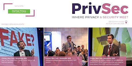 PrivSec London tickets