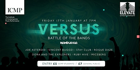 VERSUS - The ICMP Battle of the Bands tickets