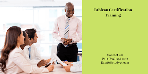 Tableau Certification Training in Bangor, ME
