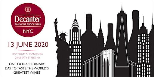 Decanter Fine Wine Encounter NYC