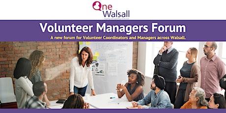 Volunteer Coordinator/Managers Forum tickets