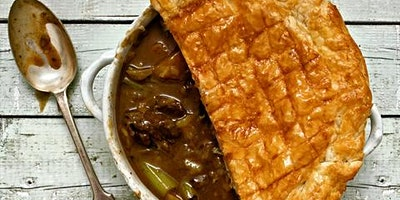 Talton Mill Supper Night : Great British Beef & Ale Pie