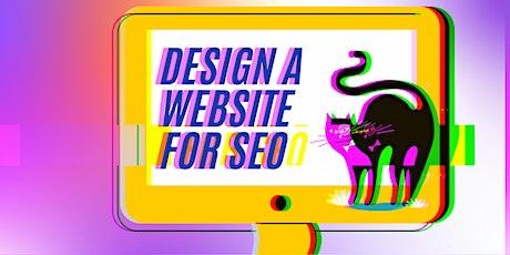 Design A Website for SEO tickets