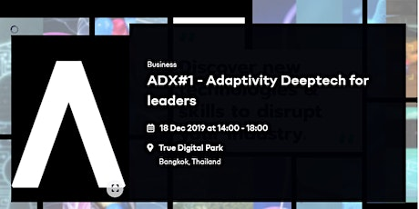 DeepTech for Leaders tickets