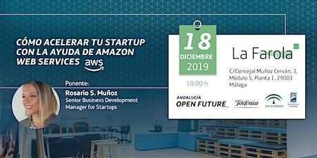 'Cómo acelerar tu startup con la ayuda de Amazon Web Services' (La Farola) entradas