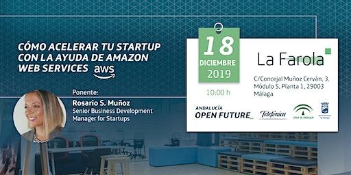 'Cómo acelerar tu startup con la ayuda de Amazon Web Services' (La Farola)
