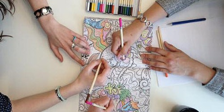 Colour & Calm FREE Adult colouring social group tickets