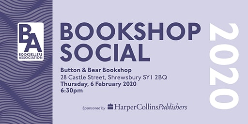 Booksellers Association Social - Button & Bear (Shrewsbury)