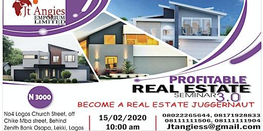 Profitable Real Estate 3.0 Seminar