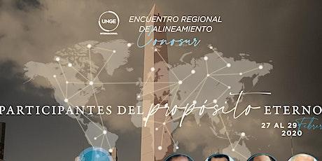Encuentro Regional de Alineamiento CONOSUR entradas