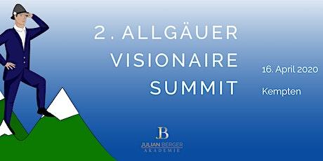 2. Allgäuer Visionaire Summit Tickets