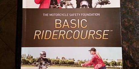BRC1#423AM 3/31, 4/4, 4/5 (Tues night classroom session with Sat & Sun MORNING riding sessions)