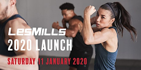 Les Mills 2020 Launch tickets