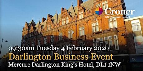 Croner Darlington Business Event tickets