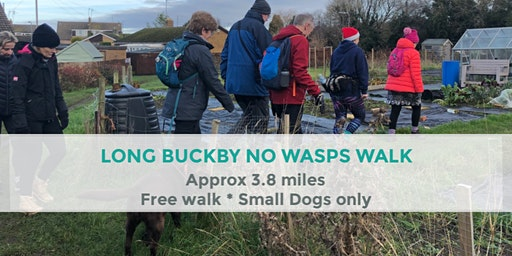 LONG BUCKBY NO WASPS WALK |  APPROX 3.8 MILES | MODERATE